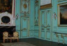 В Голубом зале Дворца Потоцких